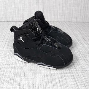 Nike Air Jordan True  Flight  Black Baby Sz 7C